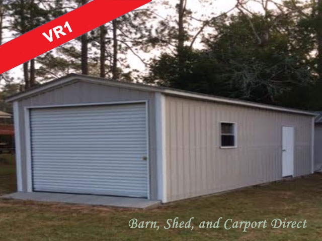 Enclosed Buildings Barn Shed Carpot Direct Metal