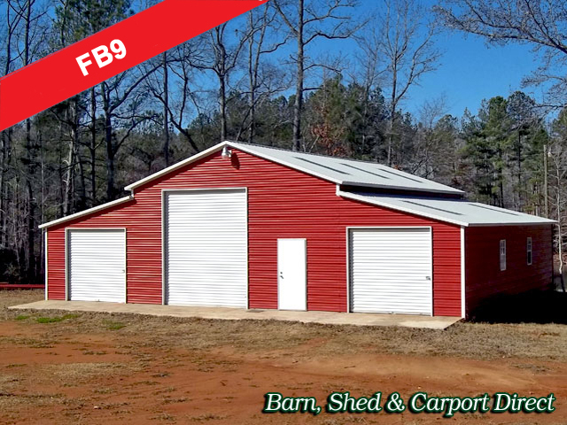 Farm equipment storage sheds image for Large garage for sale