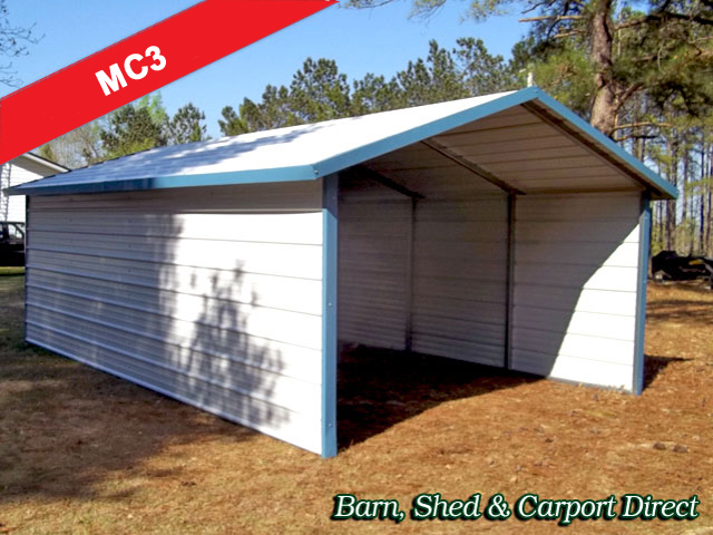 Metal Carports Barn Shed Carpot Direct Metal